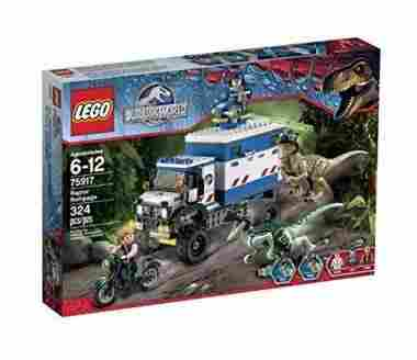 LEGO Jurassic World Raptor Rampage Building Kit