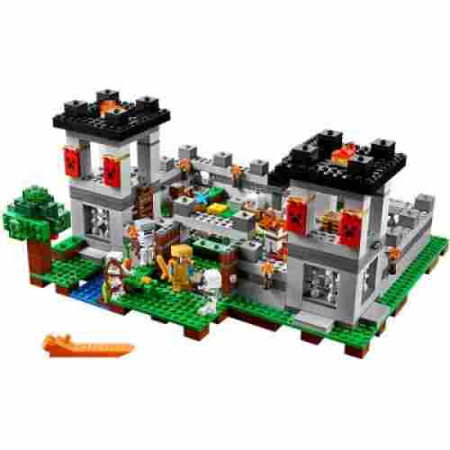 LEGO Fortress minecraft toys and minifigures for kids pack