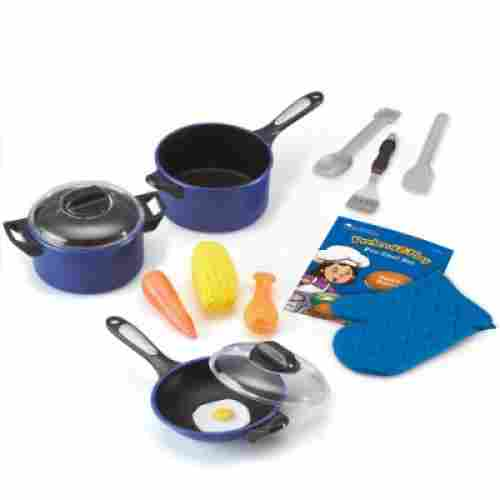 learning resources pro chef set pretend play toy for kids
