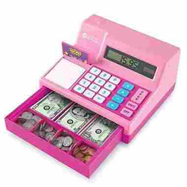 Pink Pretend & Play Cash Register