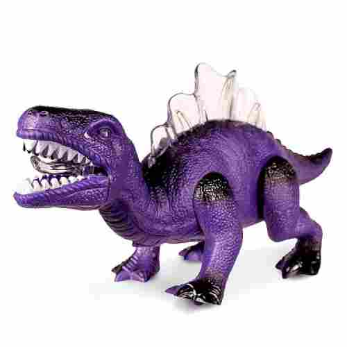 light up & walking realistic dinosaur toys for kids