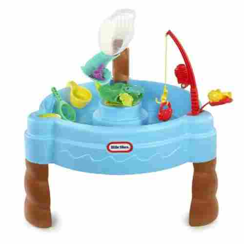 little tikes fish 'n splash water & sand table for kids and toddlers