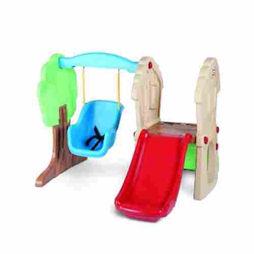 little tikes hide & seek climber & swing indoor toddler slide