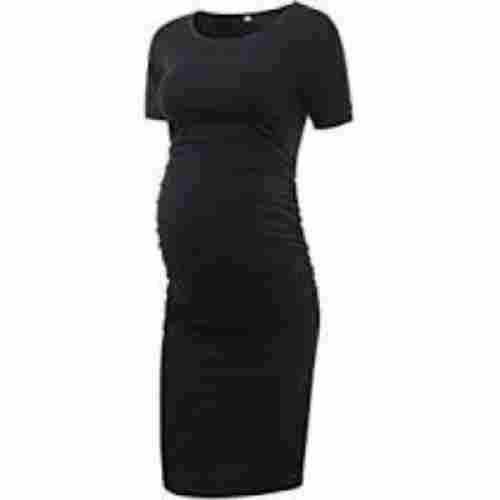Liu & Qu Bodycon Ruched Side Dress