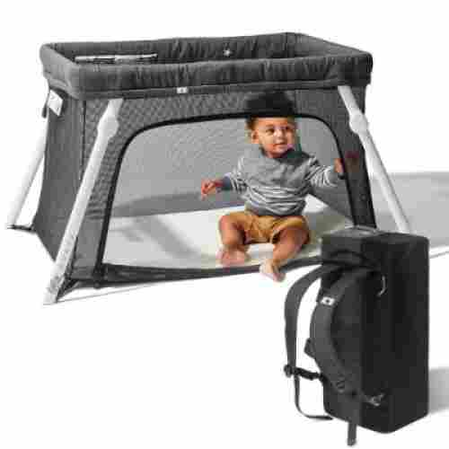 Lotus Easy to Pack Play-Yard with Comfortable Mattress and Crib