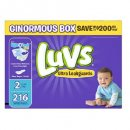luvs ultra leakguards disposable overnight diapers pack