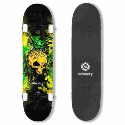 minority 32inch maple kids skateboard