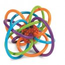 manhattan winkel rattle & teether sensory toy for toddlers