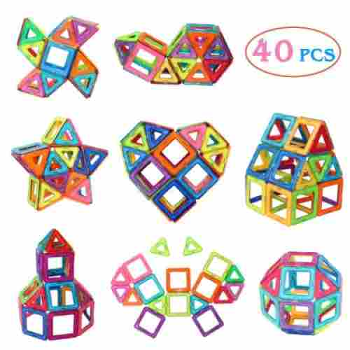 Manve 40-Pcs Magnetic