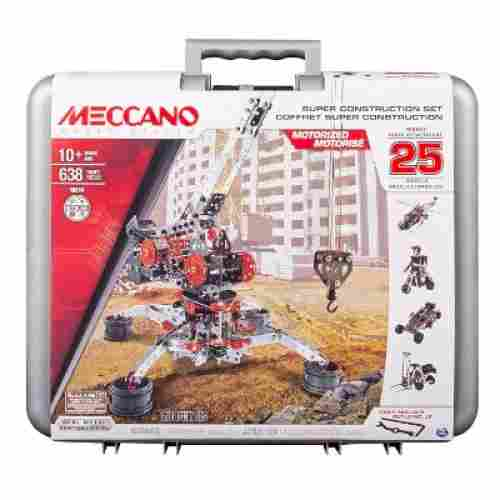 erector set Meccano 25-in-1 Motorized Model