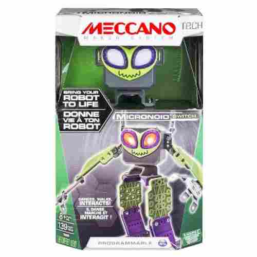 erector set Meccano Micronoid - Green Switch
