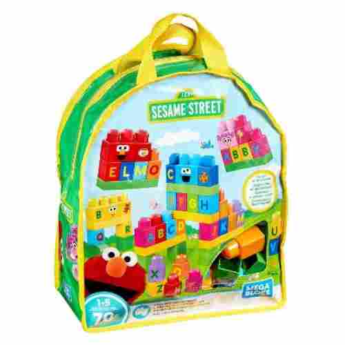 Lets Build Sesame Street Buildable Playset