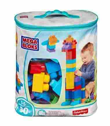 80-Piece Big Building Bag by Mega Bloks