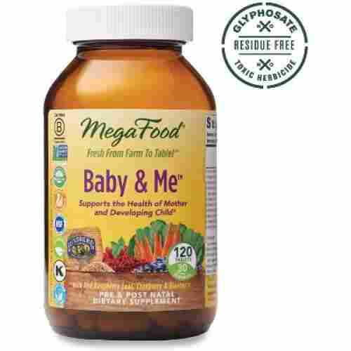 Mega Food Baby and Me postnatal supplement