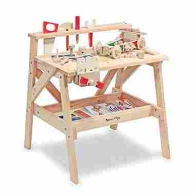 Solid Wood Project Workbench Play Set