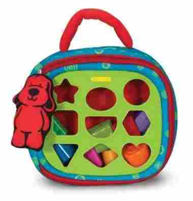Take-Along Shape Sorter Baby Toy With 2