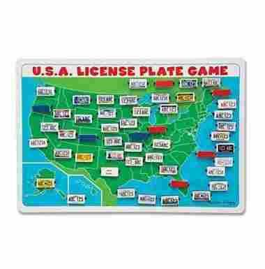 Flip to Win Travel License Plate Game by Melissa & Doug
