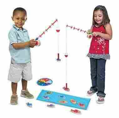 Catch & Count Wooden Fishing Game by Melissa & Doug