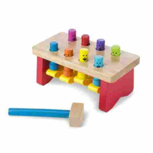 deluxe pounding bench wooden toys for kids and toddlers