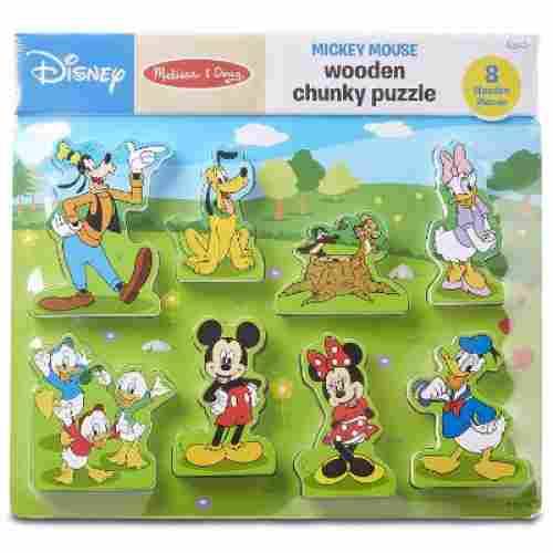 Melissa & Doug Wooden Chunky Puzzle