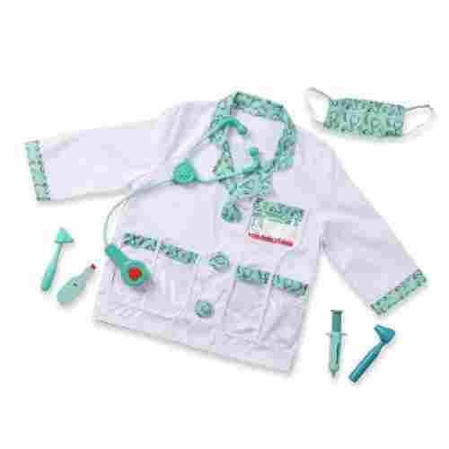 role play costume dress-up kids doctors kit