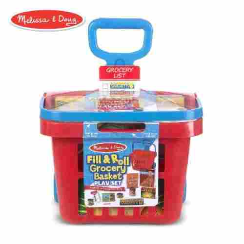 Melissa & Doug Fill & Roll Basket Play Set