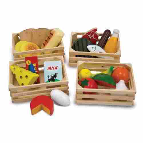 melissa & doug food groups pretend play toys for kids