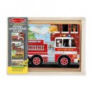 melissa doug vehicles 4 in a box jigsaw puzzle for kids