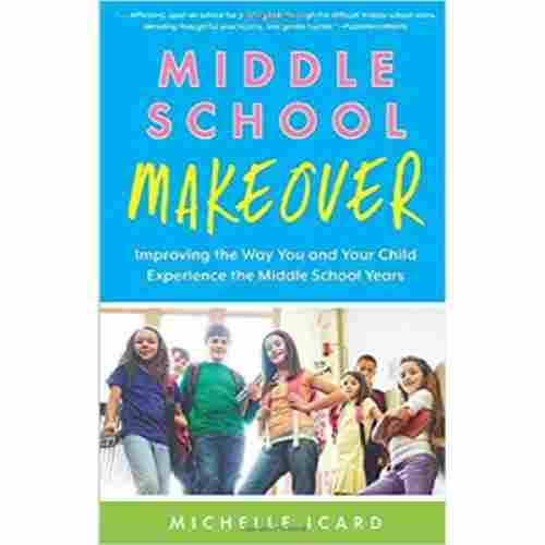 middle school makeover puberty book for boys cover