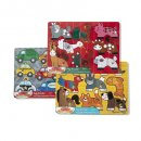 melissa & doug mix 'n match wooden puzzle