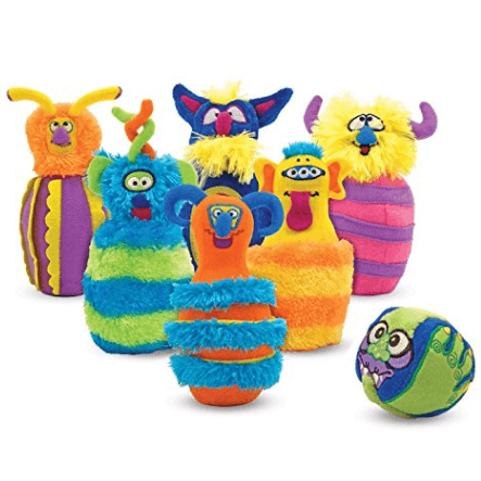Monster Plush Bowling