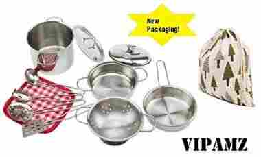 Pretend Cooking Toy Cookware Playset