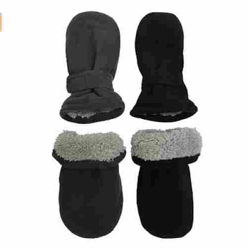 n'Ice Caps baby mittens sherpa lined