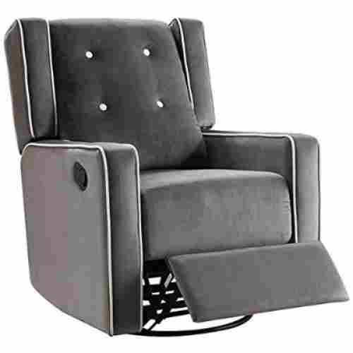 Naomi Home Odelia Swivel Gray