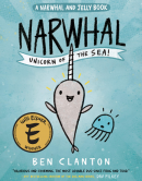 narwhal unicorn of the sea graphic novel for kids cover