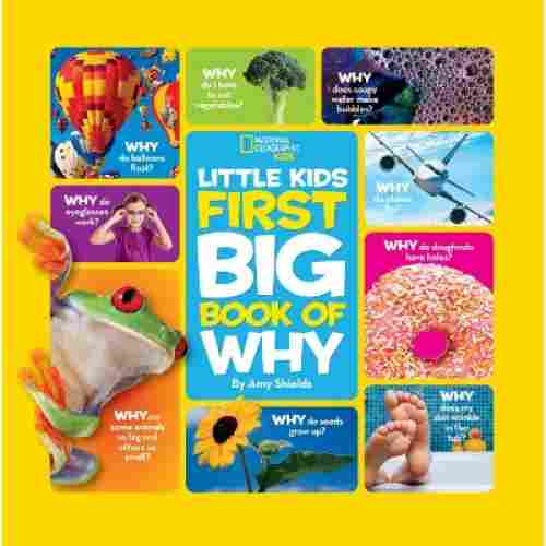 National Geographic Little Kids First Big Book of Why 4 year boy birthday gift