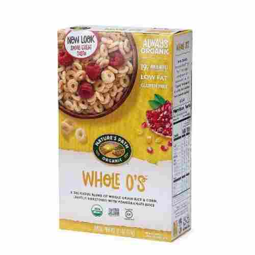 nature's path whole o's organic baby cereal