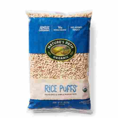 nature's path rice puffs 6 ounce organic baby cereal