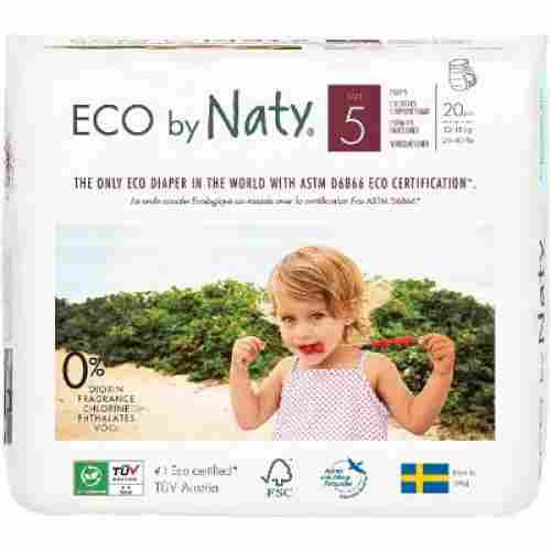 naty eco premium biodegradable diapers pull on