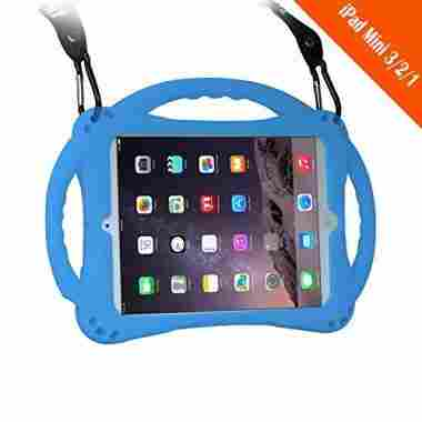 TopEs iPad Mini Case (Tempered Glass Screen Protector)