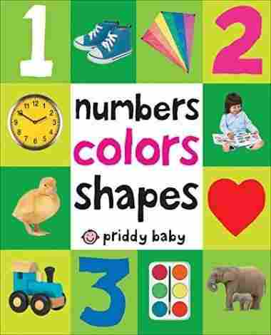 First 100 Numbers, Colors, Shapes