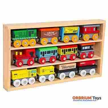 Wooden Engines & Train Cars Collection