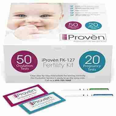 Ovulation Test Strips and Pregnancy Test Kit