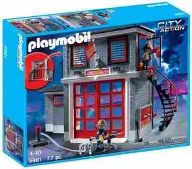 PLAYMOBIL Fire Rescue Station