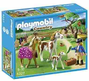 PLAYMOBIL Paddock with Horses and Foal