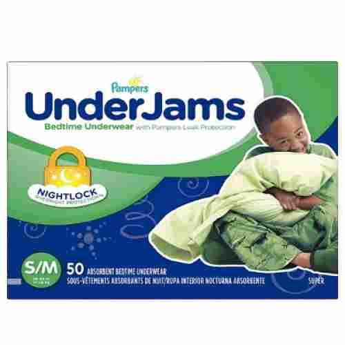 pampers underjams disposable overnight diapers pack