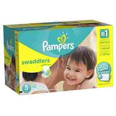 Pampers Swaddlers, 152 Count