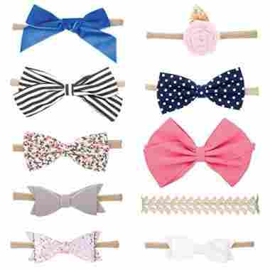 Parker Baby Co. Bands and Bows
