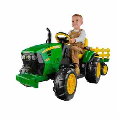 peg perego john deere force tractor electric cars for kids