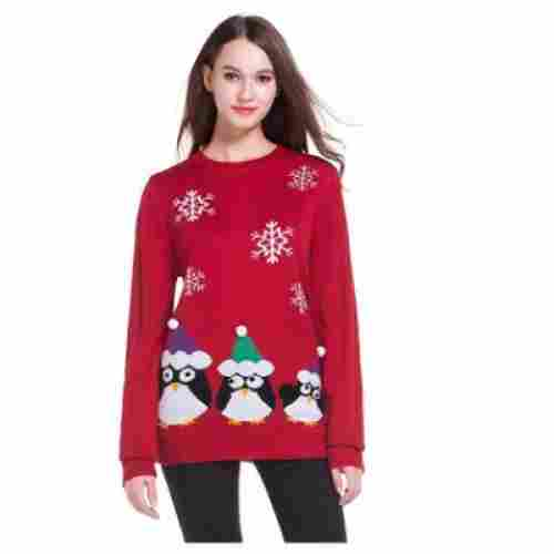 Penguin Pullover Christmas Sweater